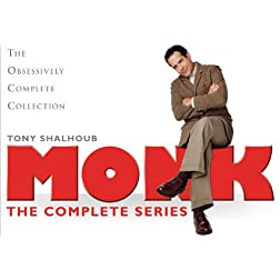 Monk: Complete Series Limited Edition Box Set
