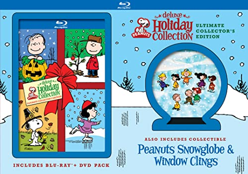 Peanuts Deluxe Holiday Collection (Ultimate Collector's Edition) [Blu-ray]