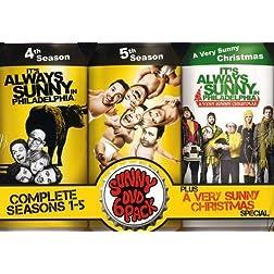 It's Always Sunny in Philadelphia: Seasons 1-5 + Christmas Special