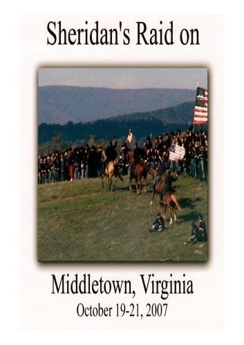 Sheridan's Raid on Middletown, Virginia (2007) Original