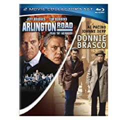Donnie Brasco / Arlington Road (Two-Pack) [Blu-ray]