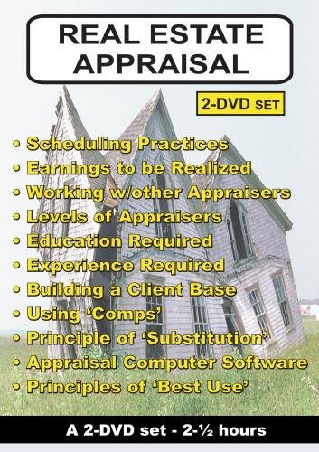 Real Estate Appraisal - a 2-DVD set