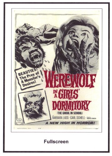 Werewolf In A Girls Dormitory 1961