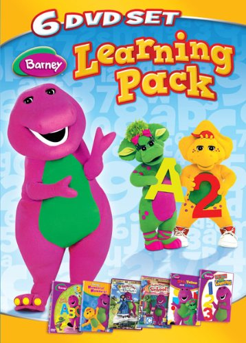 Barney: Learning Pack (Six-Disc Set)