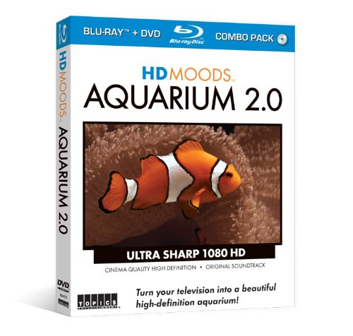 HD Moods: Aquarium 2.0 (Blu-ray & DVD Combo Set)