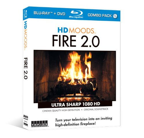 HD Moods Fire 2.0 (Blu-ray & DVD Combo Set)