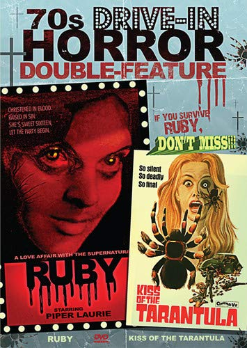 70's Drive-In Horror Double Feature: Ruby & Kiss of the Tarantula