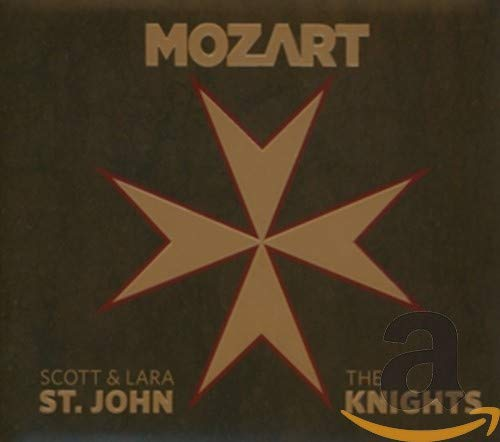 Mozart: Sinfonia Concertante for Violin and Viola, Violin Concertos Nos. 1 & 3 (feat. Lara St John: Violin, Scott St John: Violin and Viola, the Knights)