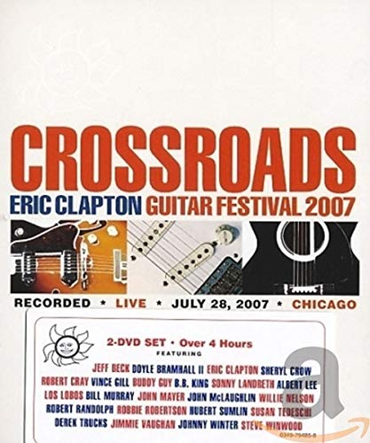 Eric Clapton - Crossroads Guitar Festival 2007 (Super Jewel)(2DVD)
