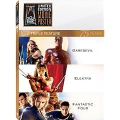 Daredevil & Elektra & Fantastic Four