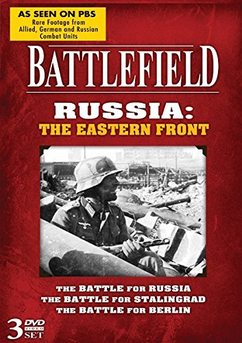 Battlefield Russia: The Eastern Front! 3 DVD Set!