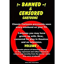 Banned & Censored Cartoons Vol.1