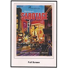 Sabotage 1936