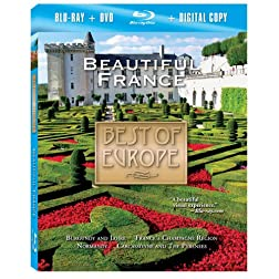 Best of Europe: Beautiful France (2pc) [Blu-ray Plus DVD and Digital Copy]