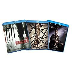 Thrills and Chills Horror Blu-ray Bundle (The Crazies / Pandorum / New Daughter) (Amazon.com Exclusive)