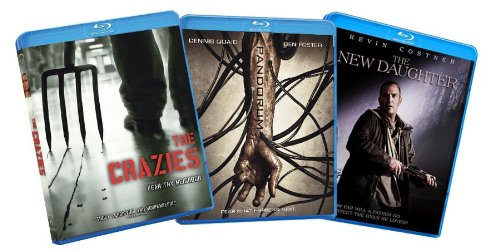 Thrills and Chills Horror Blu-ray Bundle (The Crazies / Pandorum / New Daughter) (Amazon.com Exclusive)