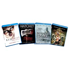 Slasher Horror Bundle (Red Mist / Hatchet / Behind the Mask / Jack Brooks Monster Slayer) [Blu-ray] (Amazon.com Exclusive) [Blu-ray]