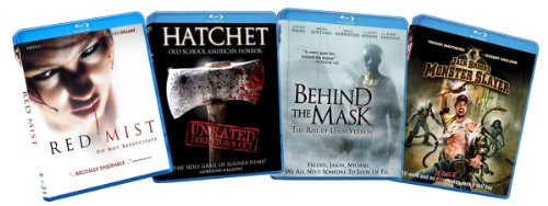 Slasher Horror Bundle (Red Mist / Hatchet / Behind the Mask / Jack Brooks Monster Slayer) [Blu-ray] (Amazon.com Exclusive) [Blu-ray]