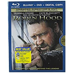 Robin Hood: Unrated Director's Cut (Blu-ray/DVD Combo + Digital Copy)