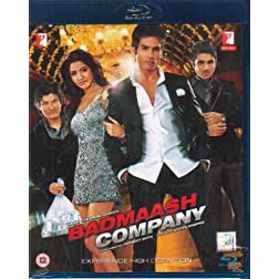 Badmaash Company - Shahid Kapoor / Yash Raj (Hindi Film / Bollywood Movie / Indian Cinema Blu-ray Disc)