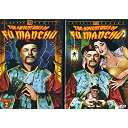 Adventures of Fu Manchu, Volume 1 & 2 (2-DVD)