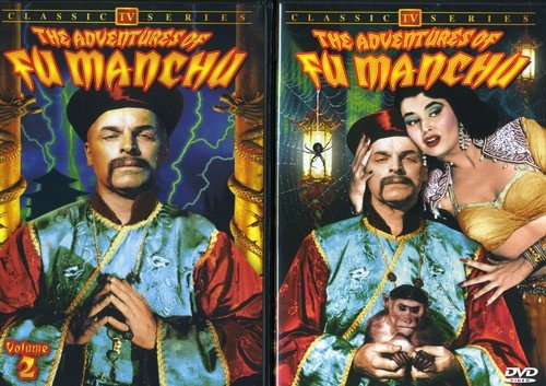 Adventures of Fu Manchu, Volume 1 & 2 (2-DVD)