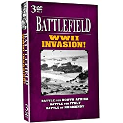 BATTLEFIELD - WWII Invasion! 3 DVD Set!