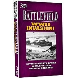 BATTLEFIELD - WWII Invasion! 3 DVD Set!