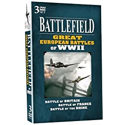 BATTLEFIELD - Great European Battles of WWII - 3 DVD Set!