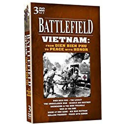 BATTLEFIELD - Vietnam: from Dien Bien Phu to Peace with Honor! 3 DVD Set!