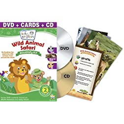 Baby Einstein: Wild Animal Safari Discovery Kit (DVD + CD and Discovery Cards)