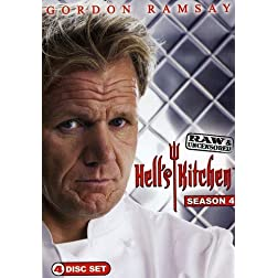 Hell's Kitchen: Season 4 Raw & Uncensored (3pc)