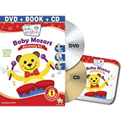 Baby Einstein: Baby Mozart Discovery Kit (DVD + CD and Picture Book)