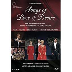 Songs of Love & Desire: New Year's Eve Concert