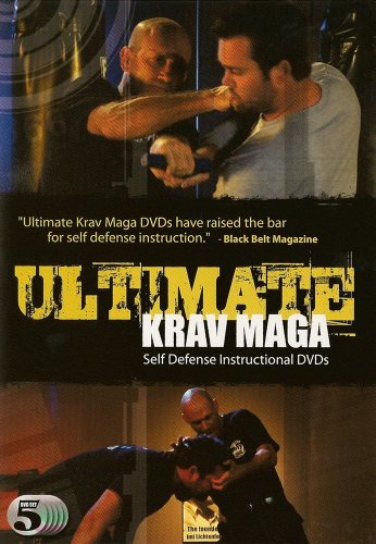 Ultimate Krav Maga 5 DVD Box Set (Beginner to Intermediate) - Combatives, Self Defense, Fighting and Weapons