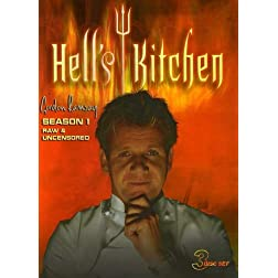 Hell's Kitchen: Season 1 Raw & Uncensored (3pc)