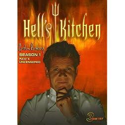 Hell's Kitchen: Season 1 Raw & Uncensored (3pc)