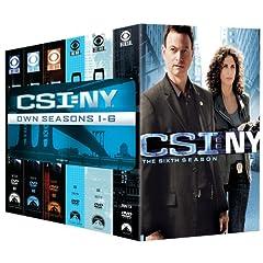 CSI: NY- Seasons One-Six