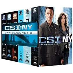 CSI: NY- Seasons One-Six