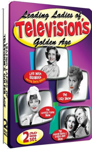 Leading Ladies of Television's Golden Age (Life with Elizabeth starring Betty White) - 2 DVD Embossed Tin!