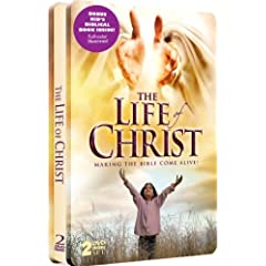 The Life of Christ - with Bonus Kid's Biblical Book - 2 DVD Collectible Embossed Tin!