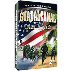 Guadalcanal - The Island of Death - 2 DVD Collectible Embossed Tin!
