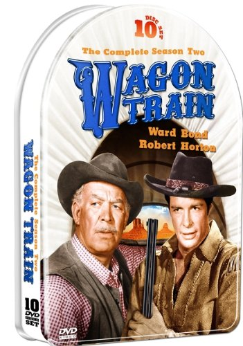 Wagon Train - The Complete Season Two in a Collectible Embossed Metallic Tin! 10 DVD Set!