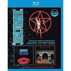 Rush- 2112+Moving Pictures Classic Album [Blu-ray]