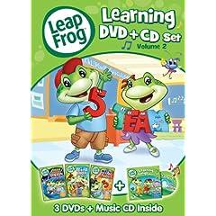 LeapFrog: Learning Set - Volume 2 (4-Disc DVD + CD)