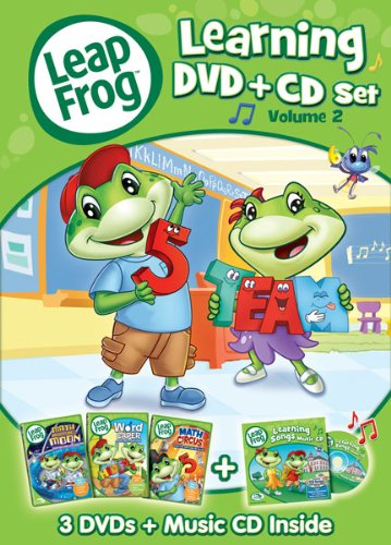 LeapFrog: Learning Set - Volume 2 (4-Disc DVD + CD)