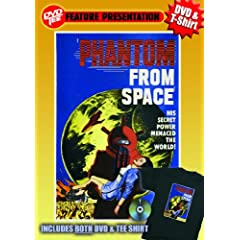 Phantom From Space DVDTee (Large)
