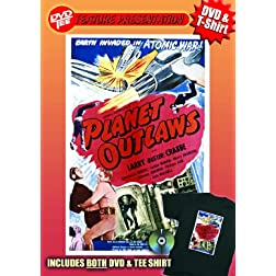 Planet Outlaws DVDTee (XL)