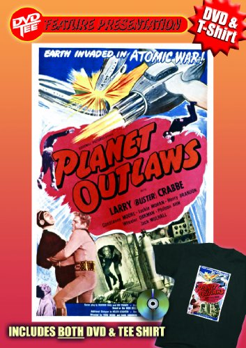 Planet Outlaws DVDTee (XL)