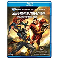 Superman/Shazam: The Return of Black Adam (DC Showcase) [Blu-ray]